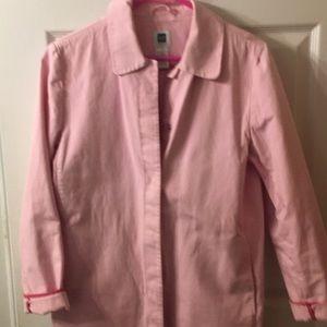 Pink Gap spring Coat